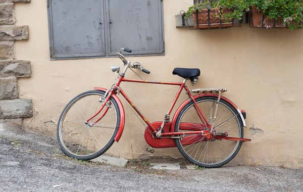Bike in Chianti