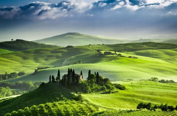 Art 'n' fun in Tuscan sun